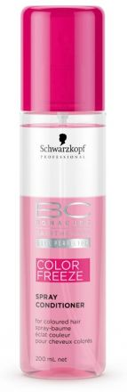 Schwarzkopf Bonacure Color Freeze Spray Conditioner - Kondicionér ve spreji pro zářivou barvu 200ml