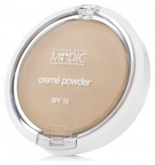 Pierre René Medic Créme Powder SPF 15 - Pudr č. 02 Light beige 7 g