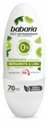 Babaria Deo Roll-on Bargamot & lime - Deodorant 70 ml