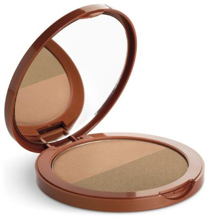 Germaine de Capuccini Golden Caresse Bronze Illusion All Year Bronze Powder SPF15 - pudr pro efekt opálené pleti SPF15 12g