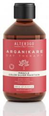 Alter Ego Arganikare Day Therapy Miracle Color Solver Maintain - šampon proti žlutým odleskům 300 ml