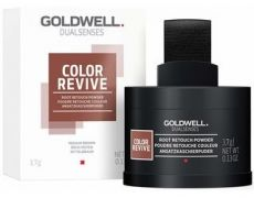 Goldwell Color Revive Root Retouch Powdeer Medium Brown - Barvicí pudr na odrosty Medium Brown 3,7 g
