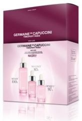Germaine de Capuccini Timexpert Rides Age Cure Night - Peeling 30 ml + booster 15 ml + sérum 15 ml Dárková sada