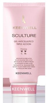 Keenwell Sculture Triple Action Anti-Cellulite gel - gel proti celulitidě 200ml