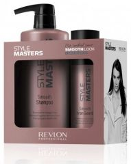 Revlon Professional Style Masters Smooth Duo Pack - Uhlazující šampon 400  ml + Uhlazující balzám 150 ba367551f8e