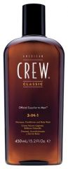 American Crew Classic 3-in-1 Shampoo, Conditioner and Body Wash - šampon, kondicionér a sprchový gel v 1 250ml