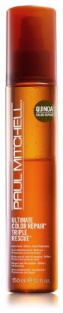 Paul Mitchell Ultimate Color Repair Triple Rescue - Tepelná ochrana ve spreji 150 ml