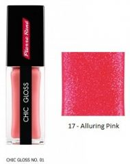 Pierre René Chic Gloss - Lesk na rty č. 17 Alluring Pink 15g