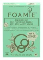 Foamie 2 in 1 Body Bar Mint to Be Fresh - Tuhá sprchová péče máta 80 g