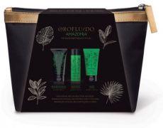 Orofluido Amazonia Cestovní set - Šampon 50 ml + Maska 40 ml + Obnovující  balzám 35 ed2502e5f9e