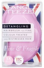 Tangle Teezer The Original Fine and Fragile Pink Dawn - Kartáč na vlasy světle růžový