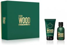 Dsquared2 Green Wood Sada - EDT 30 ml + sprchový gel 50 ml Dárková sada