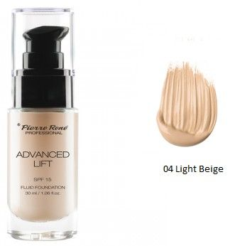 Pierre René Advanced Lift Make up SPF15 - Liftingový make-up č. 04 Light Beige 30 ml