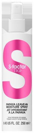 Tigi S-factor Health Factor Leave-in Moisture Spray - Papaya hydratační sprej na vlasy 250 ml