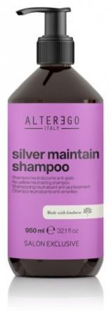 Alter Ego Silver Maintain Shampoo - Šampon pro blond vlasy 950 ml