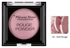 Pierre René Rouge powder Professional - Tvářenka č. 01 - Soft Rouge 8g