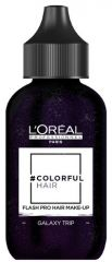L´oréal Professionnel Colorful Hair Flash Pro Hair Make-up Galaxy Trip - Bílý vlasový make-up 60 ml