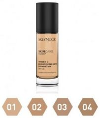 Skeyndor SkinCare Make-up Vitamin C Brightening Matte - Prozařující matující make-up č. 01 40 ml