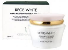 Keenwell Rege White Global All-Over Anti-Ageing Regenerating Cream - regenerační krém proti stárnutí 50ml