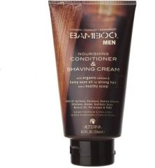 Alterna Bamboo Men Nourishing Conditioner & Shaving Cream - Vyživující kondicionér a holicí krém 250 ml