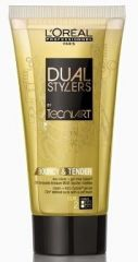 L´Oréal Paris Tecni Art Dual Stylers Bouncy a Tender Cream - Gel pro definici vln 150 ml