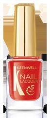 Keenwell Nail Lacquer - Lak na nehty Red Pop č.11 12ml