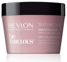 Revlon Professional Be Fabulous Texture Smooth Hair Mask - Uhlazující maska 200ml