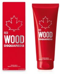 Dsquared2 Red Wood Bath and Shower Gel - Sprchový gel 200 ml