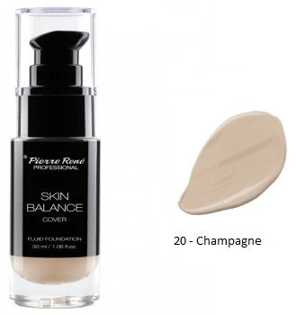 Pierre René Skin Balance Foundation Professional- Krycí make-up č. 20 Champagne 30 ml
