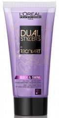 L´Oréal Paris Tecni Art Dual Stylers Sleek a Swing Cream - Gel pro uhlazení 150 ml