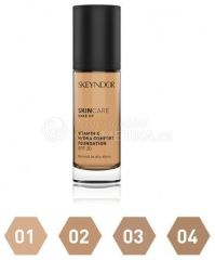 Skeyndor Skin Care Make-up Vitamin C Hydra Comfort SPF 20 č. 1 - Hydratační make-up s vitamínem C č. 1 10 ml Tester