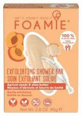 Foamie Shower Body Bar More Than A Peeling - Tuhá sprchová péče 80 g